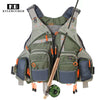 Image of Adjustable Mesh Fishing Vest With Multiple Pockets
