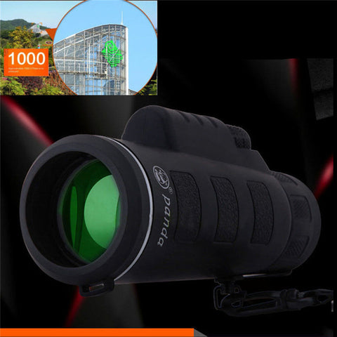 Super High Power 40X60 Portable HD Optics Night Vision Monocular Telescope#15-22
