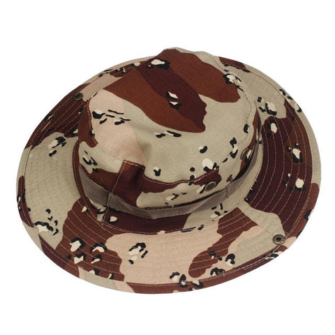 Caps Man Bucket Hat Hunting Fishing Outdoor Wide Cap Military