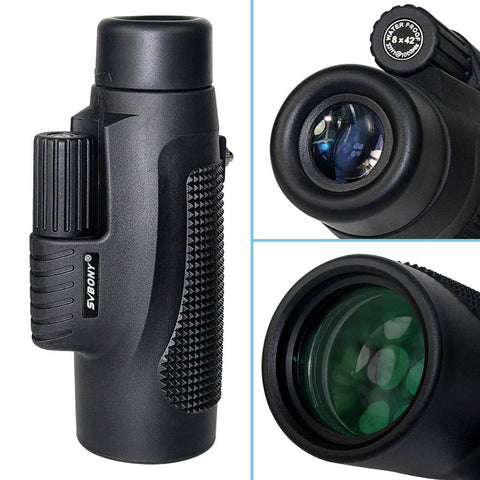 Monocular Telescope 8x42 Waterproof