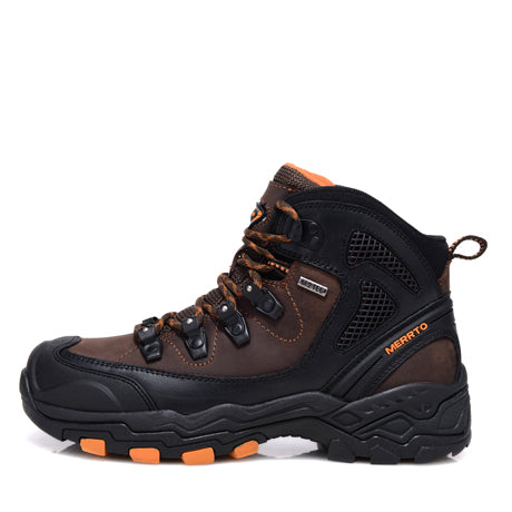 Waterproof Hiking Boots For Men Breathable Shoes Hiking Genuinle