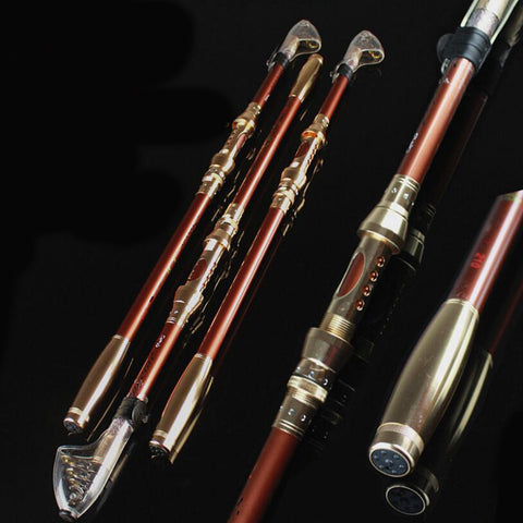 Portable Telescopic Rod Spinning Fish Hand Fishing