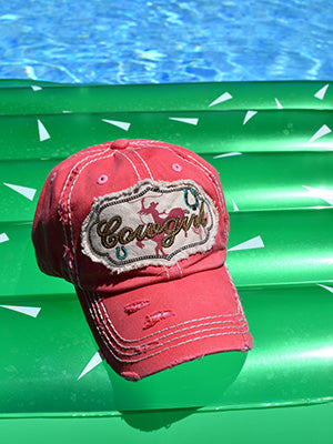 Cowgirl Baseball Hat