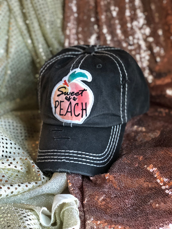 Sweet As A Peach Hat