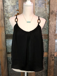 Oval Hoop Tank Top