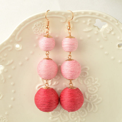 Azalea Ball Drop Earrings