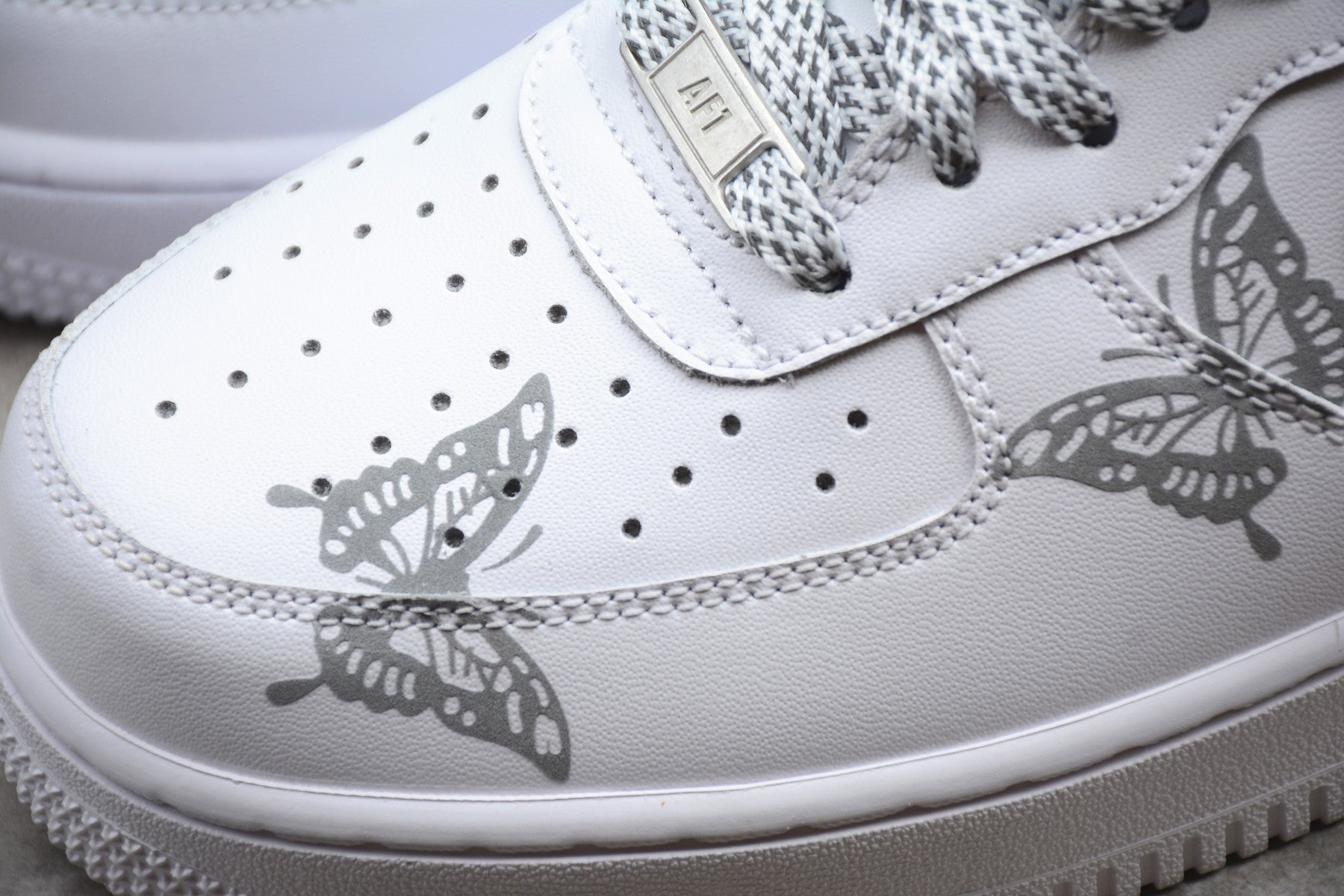 Air Force 1 Butterfly Custom;s