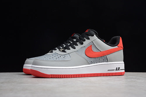Nike Air Force 1 Gray/Red