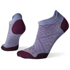 Purple Smartwool socks