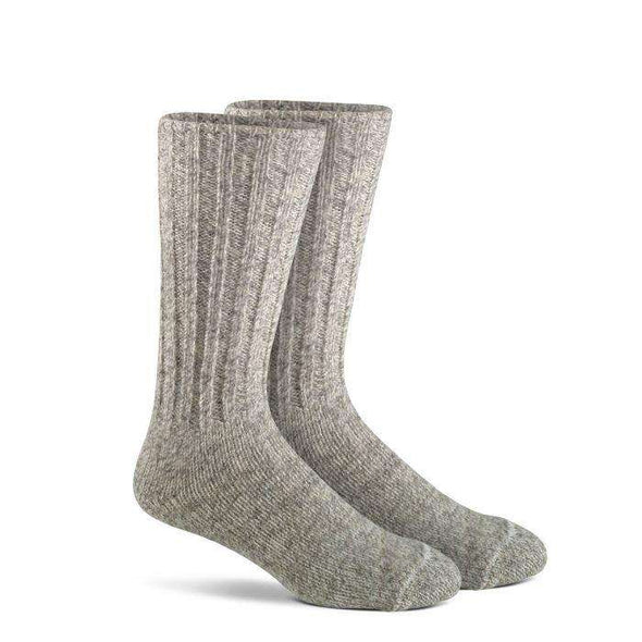 Fox River Norwegian Heavyweight Mid-Calf Boot Sock, Brown Tweed