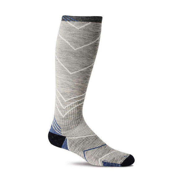 Sockwell Men's Incline OTC Moderate Compression Socks, Grey