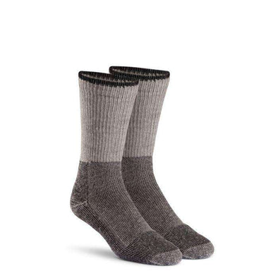 Fox River Wool Work Heavyweight Crew Sock, 2-Pack, Grey