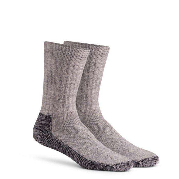 Fox River Trailhead Heavyweight Crew Sock, Grey Heather
