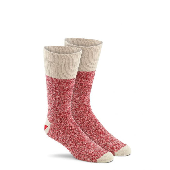 Fox River Original Rockford Red Heel® Monkey Socks, 2 Pack, Red