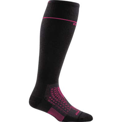Darn Tough Women's Thermolite® RFL Over-The-Calf Ultra-Light, Black