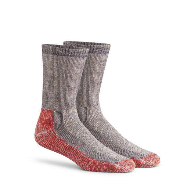 Fox River Trailhead Heavyweight Crew Sock, Charcoal