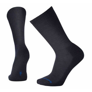 Smartwool Men's Heathered Rib Socks, Deep Navy Heather