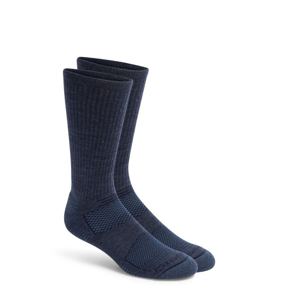 Fox River Altitude Lightweight Crew Socks, Navy Heather