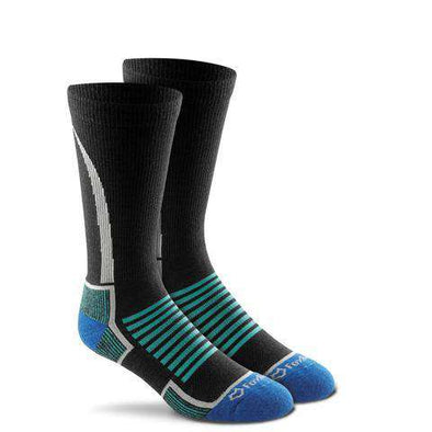Fox River Women's Basecamp Crew Socks, Black