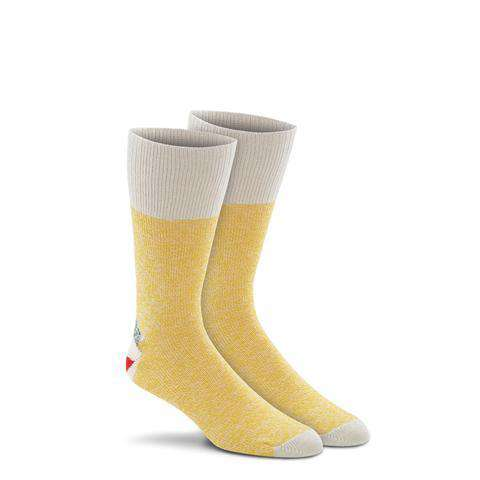 Fox River Original Rockford Red Heel® Monkey Socks, 2 Pack, Yellow
