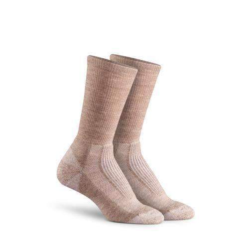 Fox River Women's Merino Hiker Crew Socks, Sand Heather