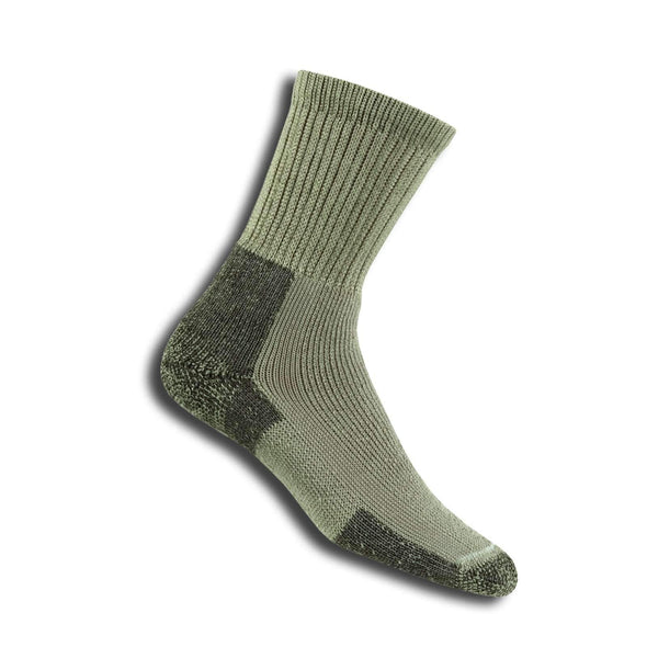 Thorlos Men's Hiking Crew Socks, Khaki