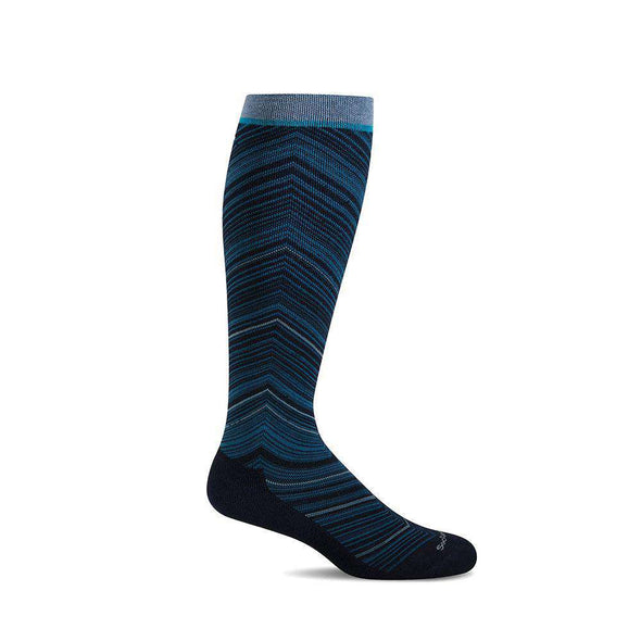 Sockwell Women's Full Flattery Moderate Compression Socks, Navy