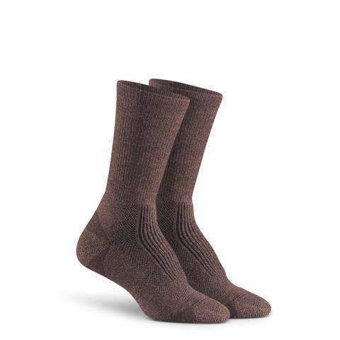 Fox River Women's Merino Hiker Crew Socks, Brown Heather
