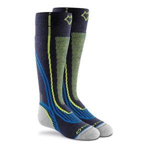 Fox River Snowpass Knee High Socks, Navy