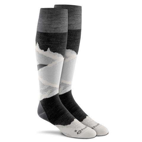 Fox River Men's Prima Alpine Knee High Socks, Black
