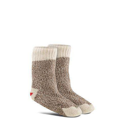 Fox River Kids Original Rockford Red Heel® Monkey Socks, 2 Pack, Brown Mini
