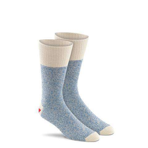 Fox River Original Rockford Red Heel® Monkey Socks, 2 Pack, Blue