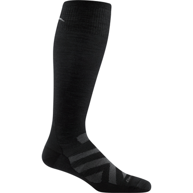Darn Tough Men's RFL Over-The-Calf Ultra Light, Black