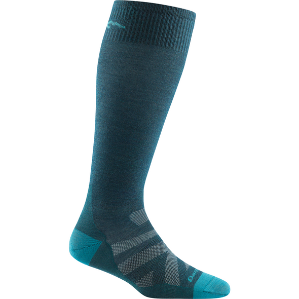 Darn Tough Women's RFL Over-The-Calf Ultra Light, Dark Teal