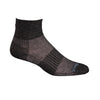 Wrightsock CoolMesh II Qtr Socks, Black Marl