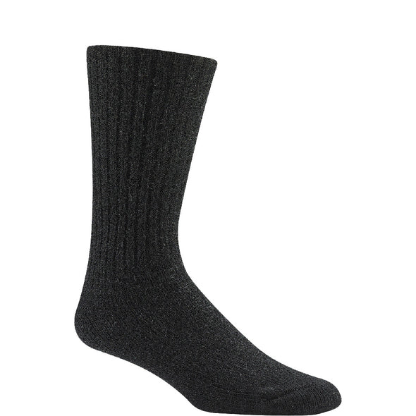 Wigwam 625 Crew Socks, Black