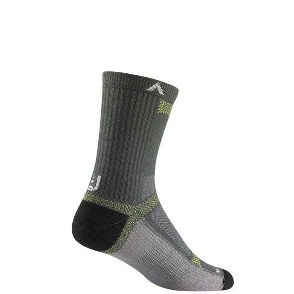 Wigwam Ultra Cool Lite Mid Crew Socks, Charcoal II