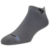 Drymax Hyper Thin Running Mini Crew Socks, Dark Grey