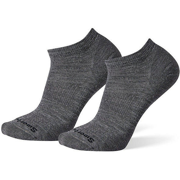 Smartwool Men's Athletic Light Elite Micro Socks, 2-Pack, Medium Gray