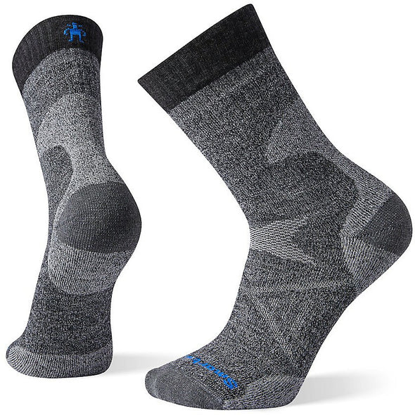 Smartwool Men's PhD? Pro Medium Crew Socks, Charcoal