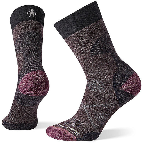 Smartwool Women's PhD? Pro Outdoor Medium Crew Socks, Charcoal