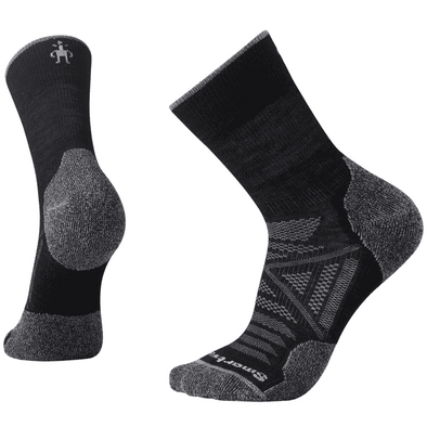 Smartwool Men's PhD® Outdoor Light Mid Crew Socks, Black