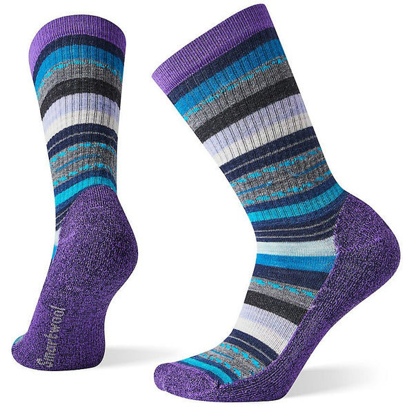 Smartwool Women's Hike Light Margarita Crew Socks, Desert Orchid