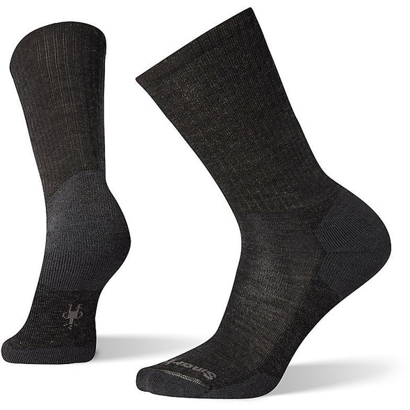 Smartwool Men's Heathered Rib Socks, Charcoal