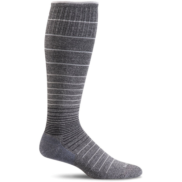Sockwell Women's Circulator Moderate Compression Socks, Charcoal