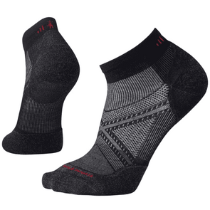 Smartwool Men's PhD® Run Light Elite Low Cut Socks, Black