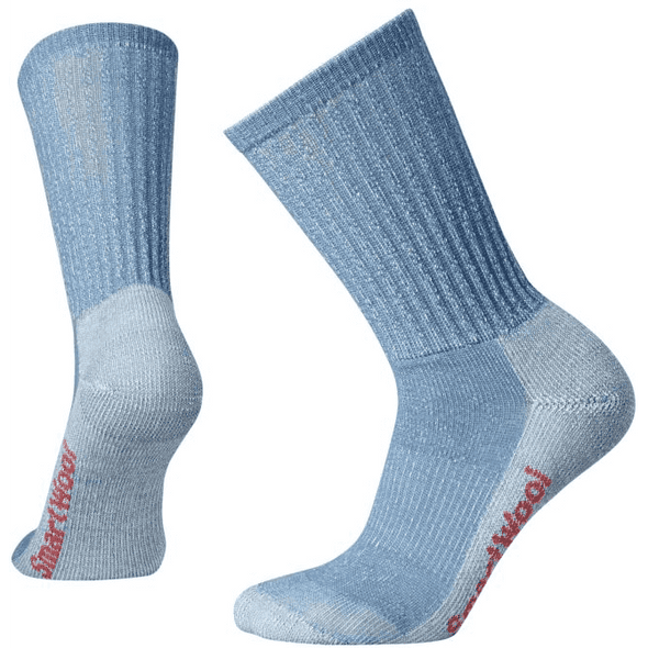 Smartwool Women's Hike Light Crew Socks, Blue Steel