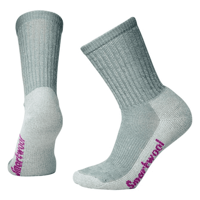 Smartwool Women's Hike Light Crew Socks, Light Gray