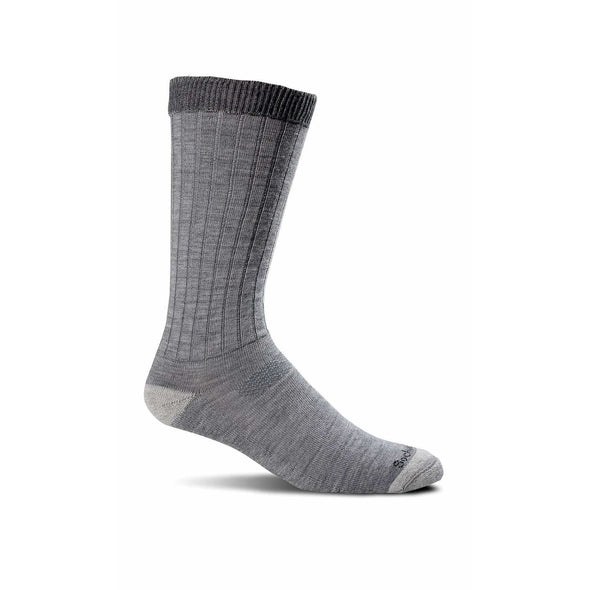 Sockwell Men's Easy Does It Relaxed Fit Socks, Grey