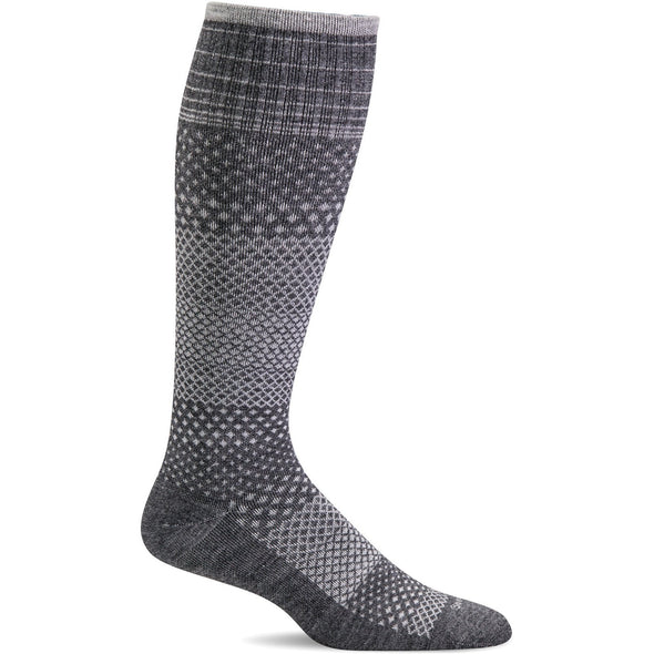 Sockwell Women's Micro Grade Moderate Compression Socks, Charcoal